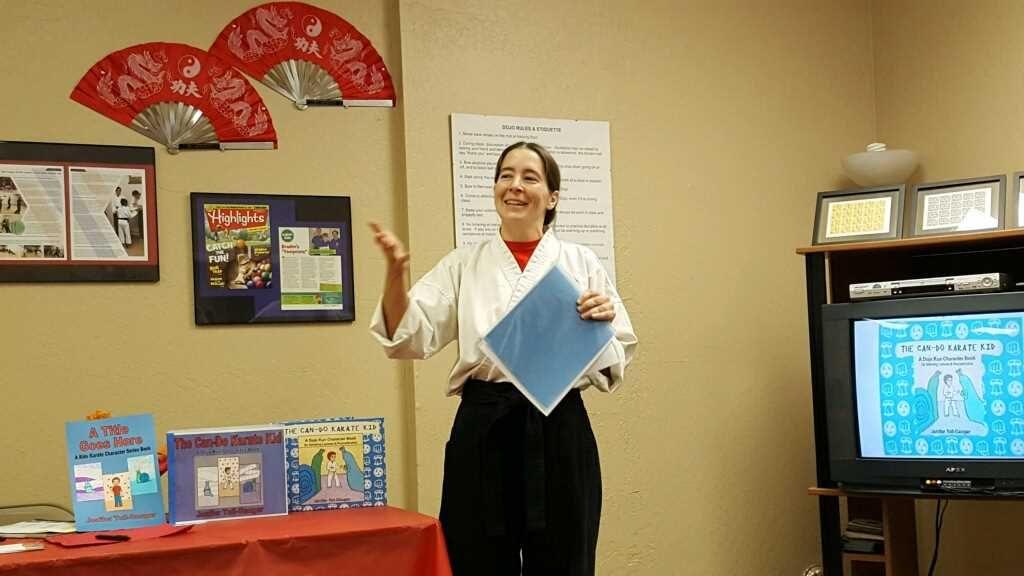 karate book author talk