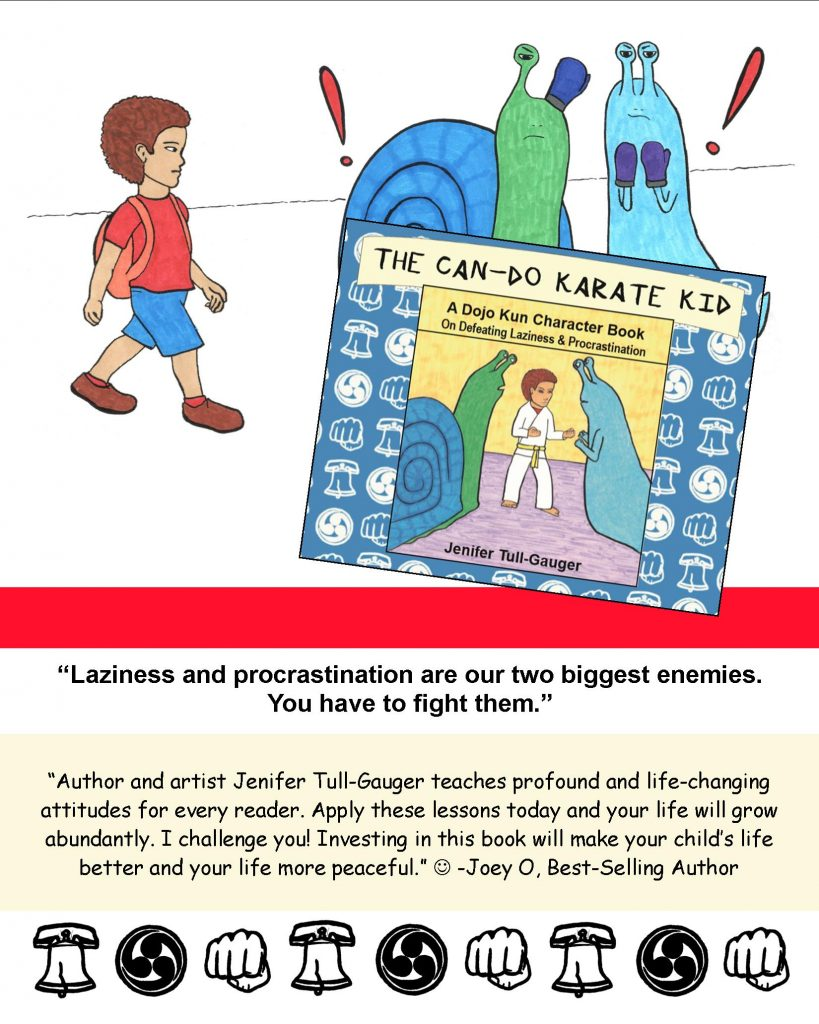 The Can-Do Karate Kid children's picture book