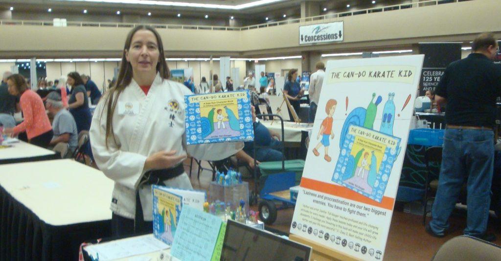 kids karate book signing