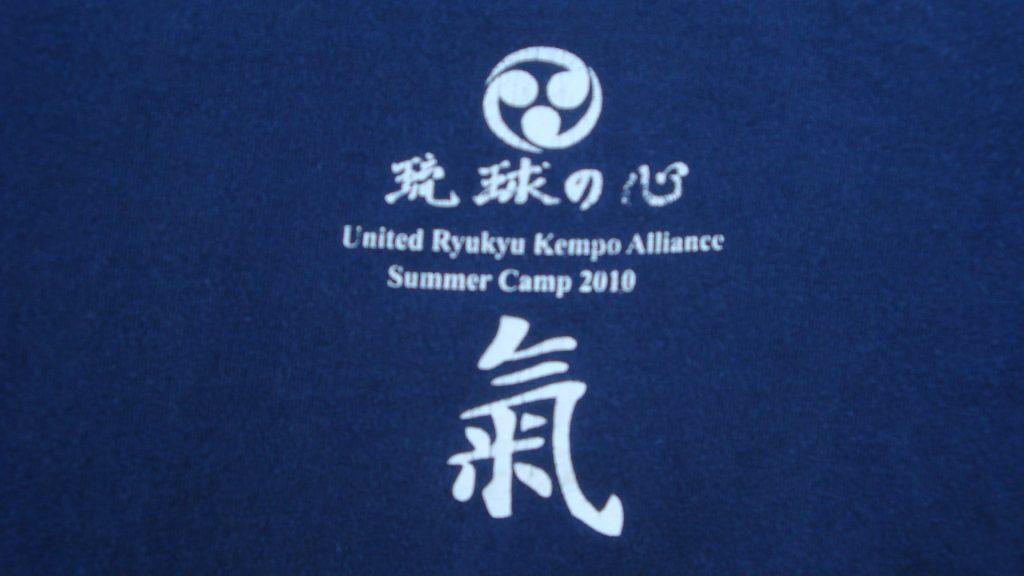 t-shirt with the muln symbol for Ryukyu