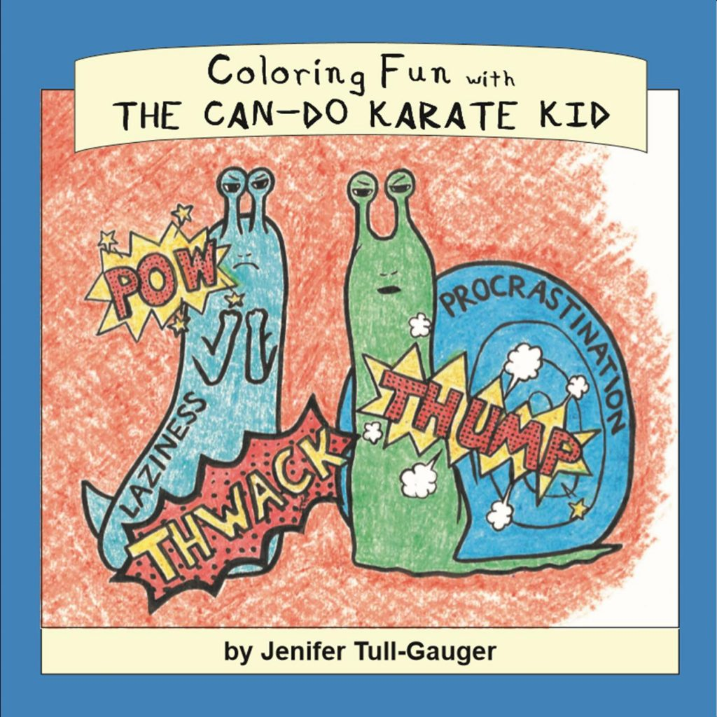 Coloring Fun with The Can-Do Karate Kid