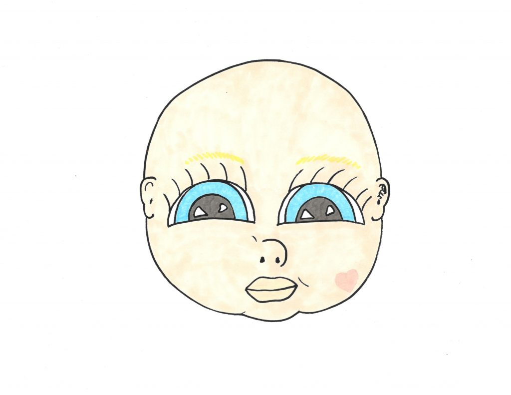 picture of Michi as a baby