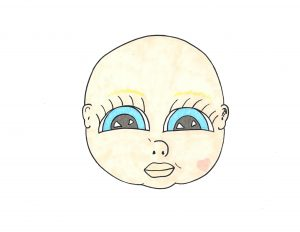 Michi as a Baby: a Main Character Portrait