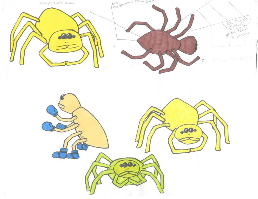 Dishonesty Spider Art Evolution