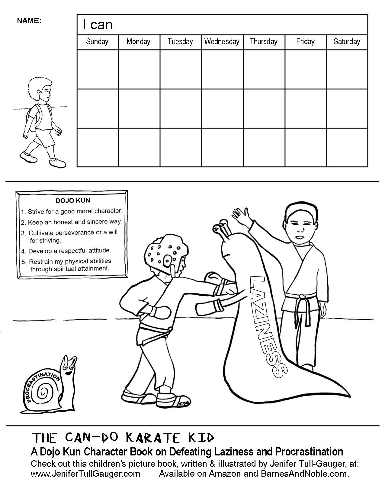 Healthy Habits Worksheet and Teachers' Lesson Plan